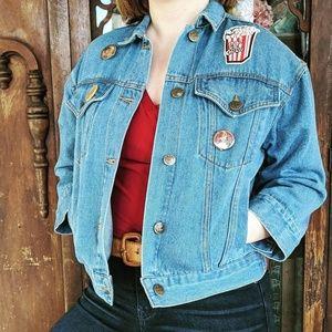 Sadie Robertson Wild Blue Denim Jacket